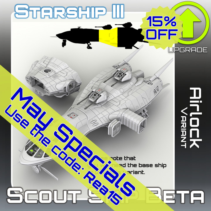 Scout Ship Beta Airlock Variant Upgrade