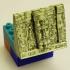 Montini Maya Temple of Masks Left (Lego Compatible) image