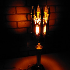 GOTHIC LAMP SHADE 2