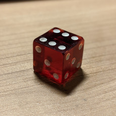 Picture of print of D6 Dice