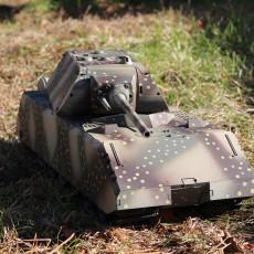 Panzer VIII Maus Hull 1/16 Model