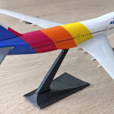 Slot Together Model Aircraft Stand