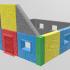 Modular building for wargame image