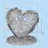 Heart pen holder image
