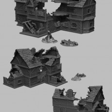 Medieval Scenery - Ruined Tavern