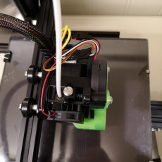 Picture of print of Ender 3 - compact Hemera mount plate with BLTouch