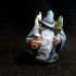 Dwarven Wizard/Sorcerer Miniature print image