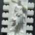 Montini Diana Goddess of the Ocean Wall Set (Lego Compatible) image
