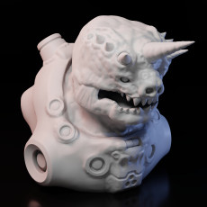 Unicorn Alien Marine Bust