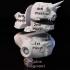 Unicorn Alien Marine Bust image