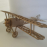 (LOWER WINGS. Left) ww1 fighter aircraft collection / Fascicle 4 of Niueport 28 image