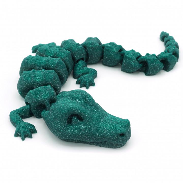 Articulated Alligator