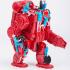 Steampunk and dieselpunk robots. image