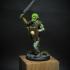Goblin Fighter - Miniature print image