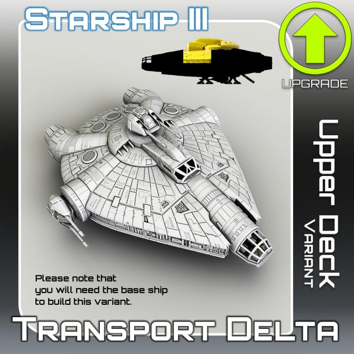 Transport Delta Upper Deck Variant