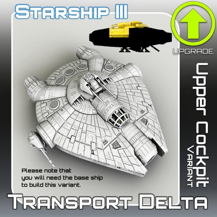 Transport Delta Upper Cockpit Variant