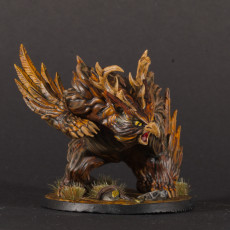 Picture of print of Uldar Druidical Beast Form