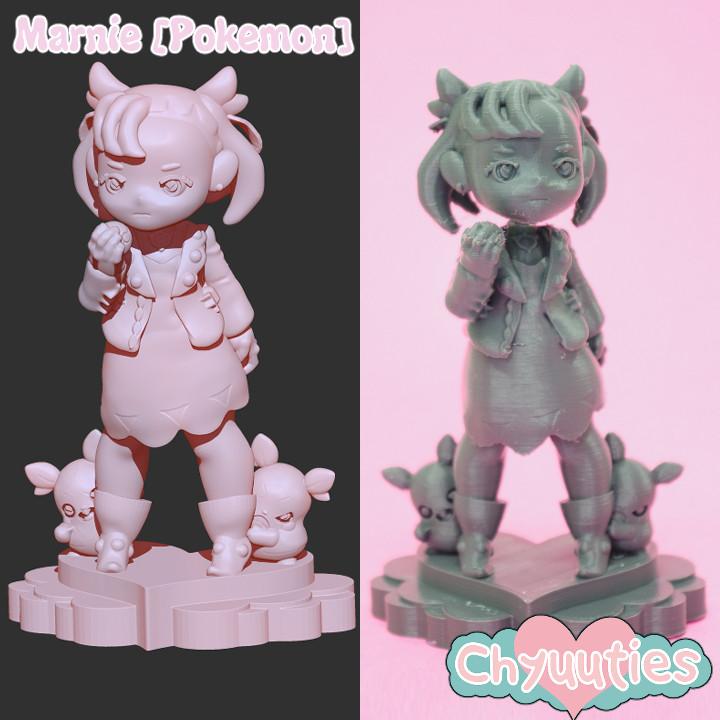 Chyuuties [Fanart]: Marnie from Pokemon