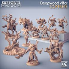 COMPLETE Deepwood Alfar (presupported)