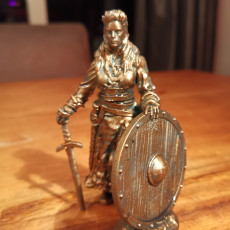 Picture of print of Siv, Viking Shield Maiden