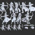 Elf Ranger Set (Type A&B) with Modular Hands and Weapons (Presupported) image