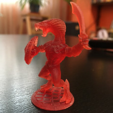 Picture of print of Snakeman - 3 Units (AMAZONS! Kickstarter)