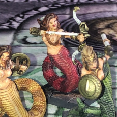 Picture of print of Snakewoman Archers - 3 Units (AMAZONS! Kickstarter)