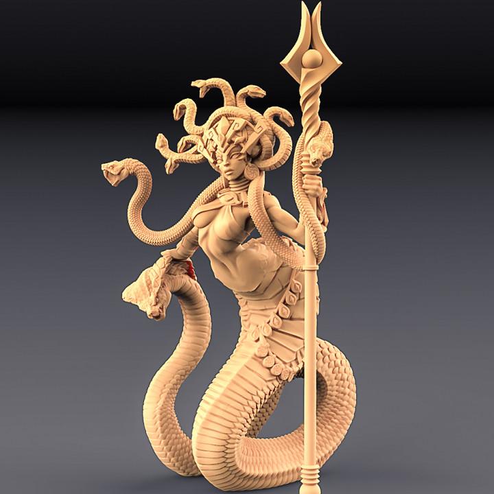 Queen Sthenaria + Snakes Altar (AMAZONS! Kickstarter)