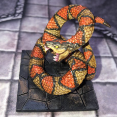 Picture of print of Giant Snakes - 2 Units (AMAZONS! Kickstarter)