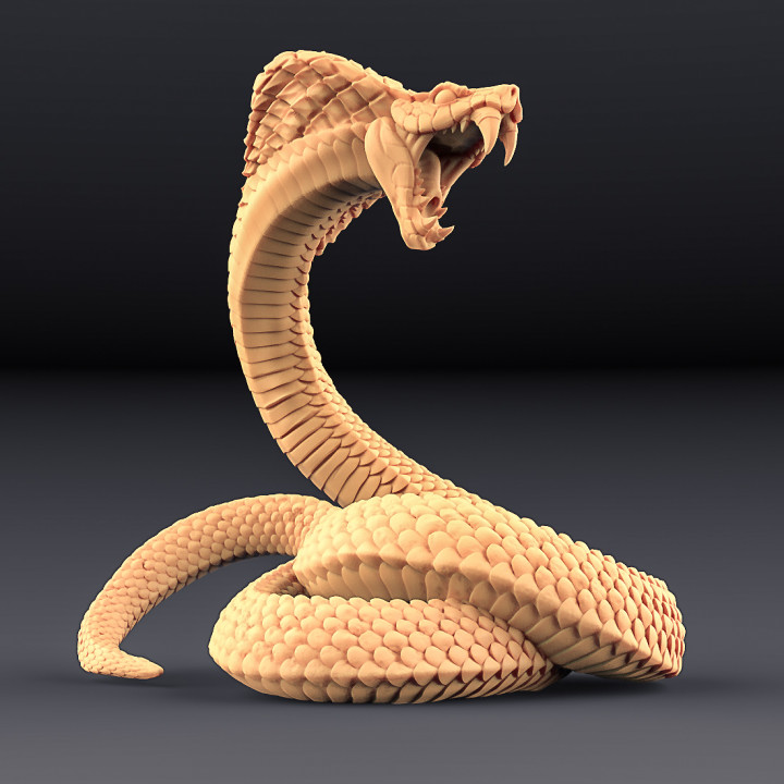 Giant Snakes - 2 Units (AMAZONS! Kickstarter)