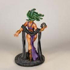 Picture of print of Medusa - Snake Cult Beauty (Fantasy Pin-Up) (AMAZONS! Kickstarter)