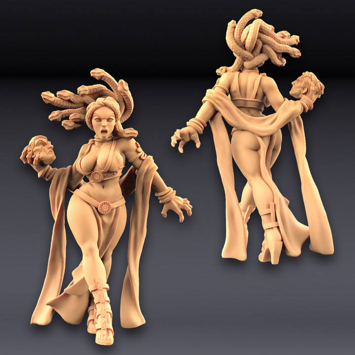 Medusa - Snake Cult Beauty (Fantasy Pin-Up) (AMAZONS! Kickstarter)
