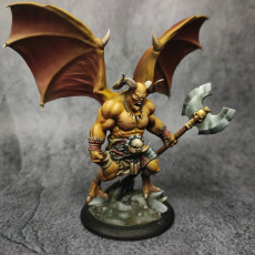 Picture of print of Axaroth  Hellbringer