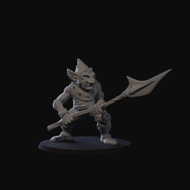 Goblin Skirmisher with Spear 02