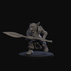 Goblin Skirmisher with spear 03