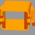 BOSCH PST650 JIGSAW LIFTING ROD 2 609 002 320 PLASTIC PART image