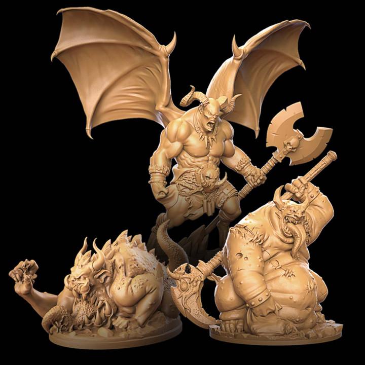 Demonic final boss bundle