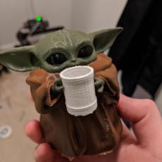Baby Yoda Holding Beer Mug (Multimaterial)
