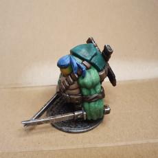 Picture of print of Teenage Mutant Ninja Tortle - Leohardfoe Miniature