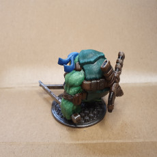 Picture of print of Teenage Mutant Ninja Tortle - Leohardfoe Miniature This print has been uploaded by Nico Détrain