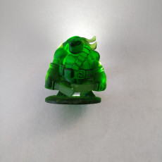 Picture of print of Teenage Mutant Ninja Tortle - Leohardfoe Miniature