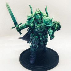 Picture of print of Death Knight