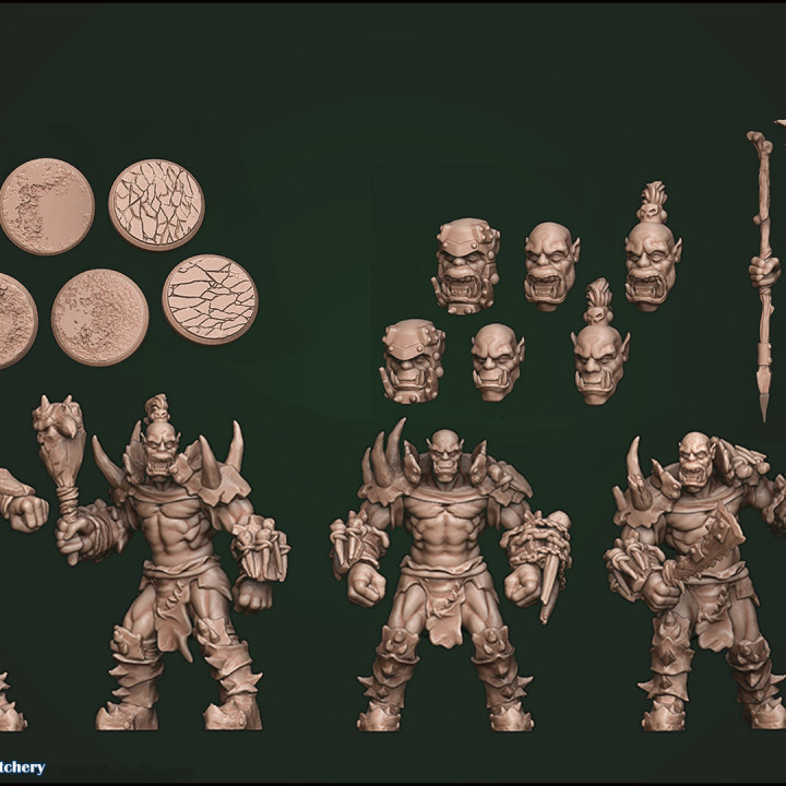 Orc Pack, Modular's Cover