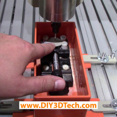 CNC Water Bath for Stone and Glass Cutting!