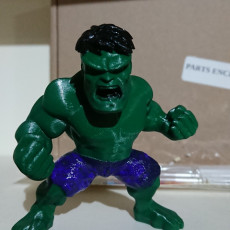 Picture of print of HULK BH FIG