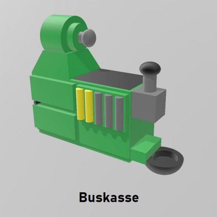 Kasse für Modellbusse