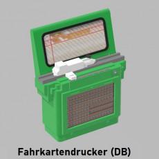 Fahrkartendrucker Deutsche Bundesbahn