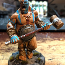 Picture of print of Hill Giant - Ogre