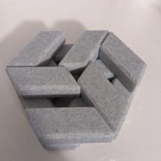 Hexagon Puzzle made slightly prettier