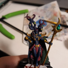 Picture of print of Lilith Daemon Warlock